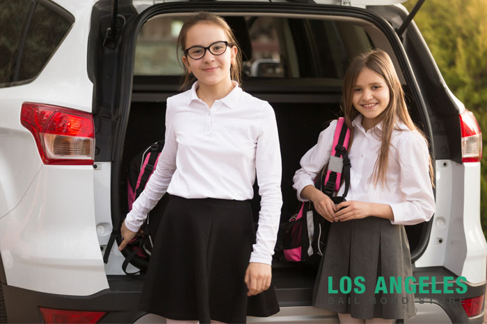 los angeles bail bond store back to school