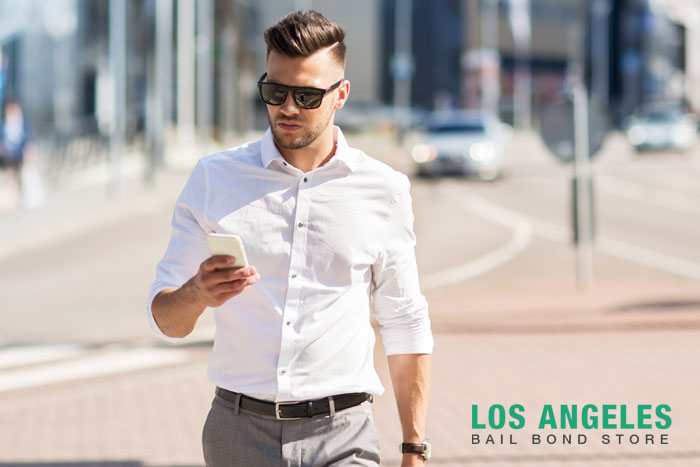 los angeles bail bond store distracted walking laws
