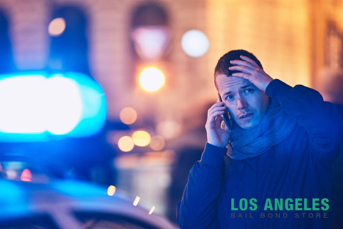 Witnessing a crime in california