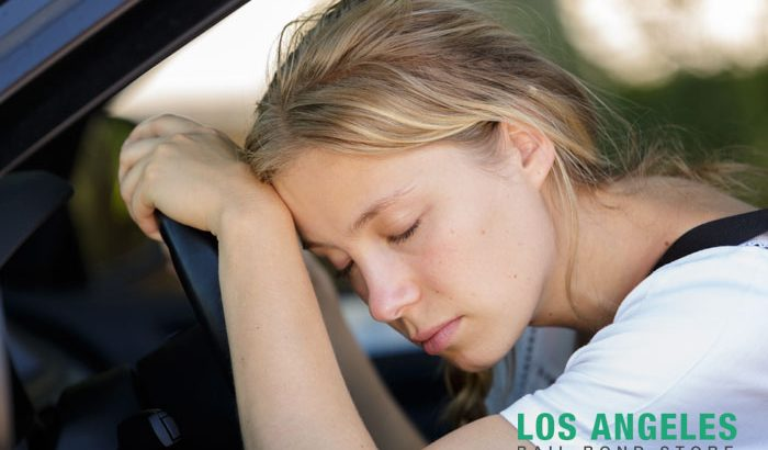 Falling asleep behind the wheel
